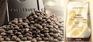 Callebaut Chocolate Extra Bitter 70.4% cacao 2 lbs