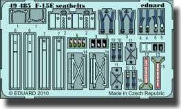 ceintures de McDonnell Douglas F-15E d'Eagle (pour maquettes Academy)
