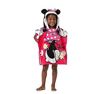 Minnie Mouse Girls Hooded Towel Poncho