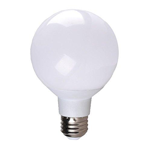 6 Pack LED G25 Vanity Globe Light Bulb - DIMMABLE - 6W (40 Watt Equivalent) Warm White (2700K ...