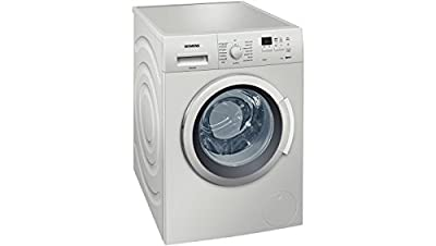 Siemens WM12K168IN Fully-automatic Front-loading Washing Machine (7 Kg, Silver)