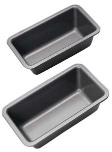 MasterClass Mini Loaf Pans Set of 2 Non-Stick Heavy Duty Premium Bakeware