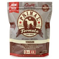 Primal Pet Foods 850080 Canine Venison Nuggets, 3-Pound