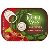 John West Boneless Sardines in Tomato Sauce 95g