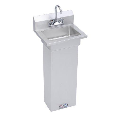 Economy Hand Sink, with pedestal base (Pedestal Sink With Backsplash compare prices)
