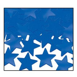 Fanci-Fetti Stars (blue) Party Accessory  (1 count) (1 Oz/Pkg)