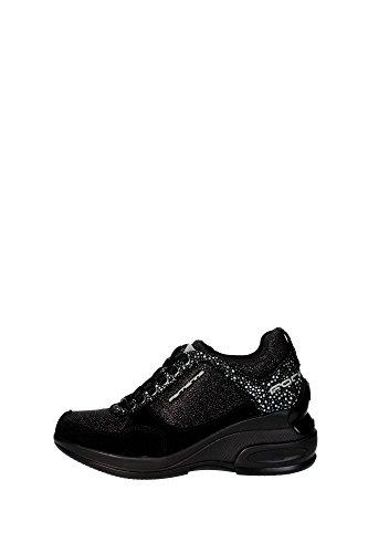 Fornarina PEFDY7615WKA000 Sneakers Donna Camoscio/nylon Nero Nero 40