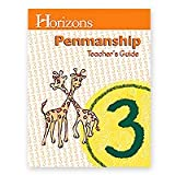 img - for Horizons 3rd Grade Penmanship Teacher's Guide book / textbook / text book