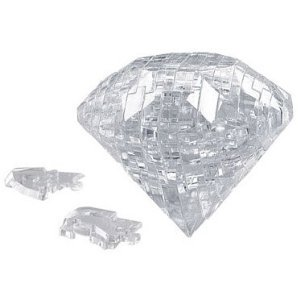 Picture of Beverly Enterprises CRYSTAL PUZZLE Diamond 50073 (B0048GDVSK) (Pegged Puzzles)