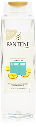 Pantene Shampoo Purificante, Capelli Incredibilmente Puliti - 300 ml