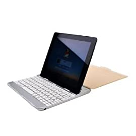 PortaCell Apple iPad 2 Keyboard Dock with Wireless Bluetooth Keyboard for Apple iPad 2 3G WIFI Tablet