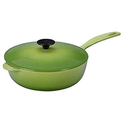 Le Creuset Enameled Cast-Iron Saucier Pan, 3-Quart