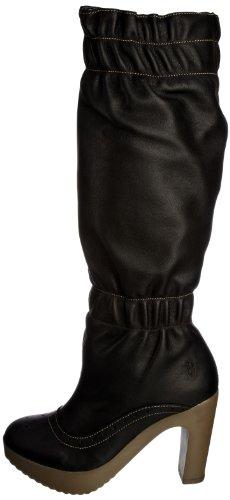 Fly London Women's Jalep Black Platforms Boots P142019004 6 UK