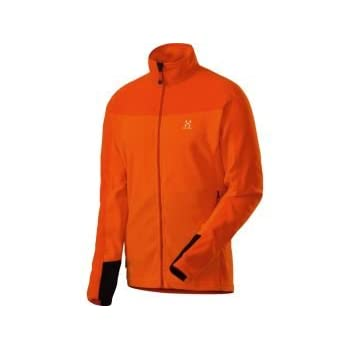 Haglofs Micro jacket polartec Veste micropolaire homme 601482 orange