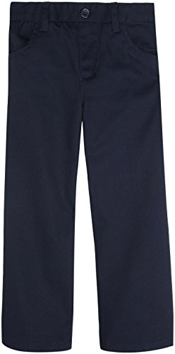 French Toast School Uniforms Pull-On Girls Pant Girls Navy 2T front-606938