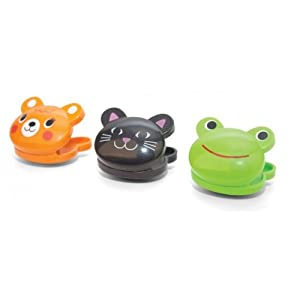 Kikkerland Bag Clips Set of 6 by Kikkerland - Frog