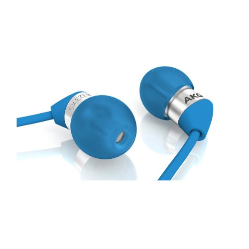 Akg K323Xs Blu Ultra Small In-Ear Headphones (Blue)