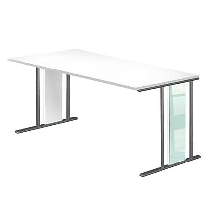 kerkmann escritorio Lugano, b1.800X T900mm, color blanco