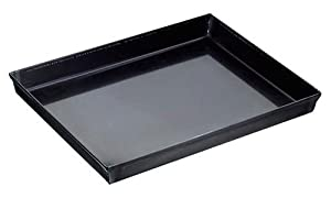 Paderno World Cuisine 15.75 by 11.825 Inch Blue Steel Baking Sheet