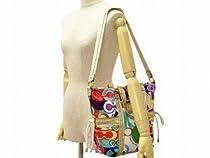Hot Sale Authentic Coach Daisy Poppy C Print Pocket Tote Convertible Shoulder Bag 21361