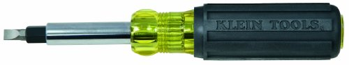 Klein Tools 32557 Heavy-Duty Multi-Bit Screwdriver/Nut Driver
