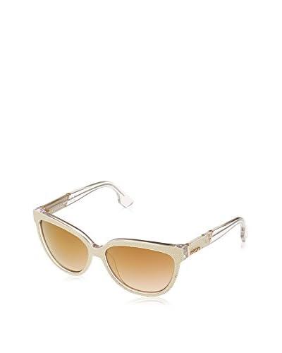 Diesel Gafas de Sol (58 mm) Dorado / Transparente