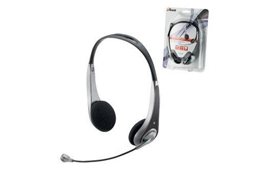 Trust HS-2550 Stereo-Headset mit verstellbarem Mikrofon und Lautstärke-Fernbedienung am Kabel