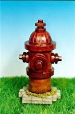 Dog Fire Hydrant Yard Garden Indoor Outdoor Resin Statue 14""