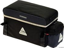 Axiom Randonnee Trunk 8-liter Rack Bag: Black/Gray