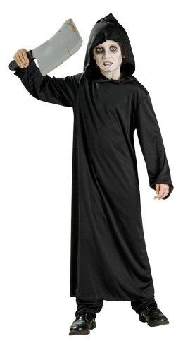 Haunted House Child's Black Horror Robe, Large