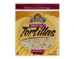 Food For Life Whole Grain Brown Rice Tortillas - 12 oz