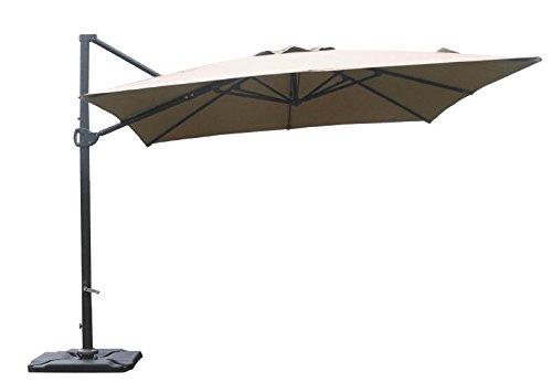 Portable Umbrella Base : Abba patio offset cantilever sturdy portable umbrella base