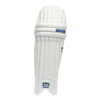 SS Academy Men's RH Batting Legguard (White)