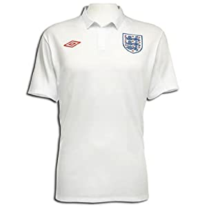 Umbro England Home Shirt 09/10