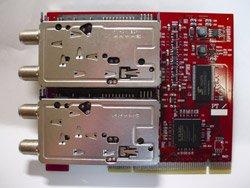 【赤いPT2】 DECULTURE PT2×2 【合計4基のデジタルチューナー搭載PCIボード】