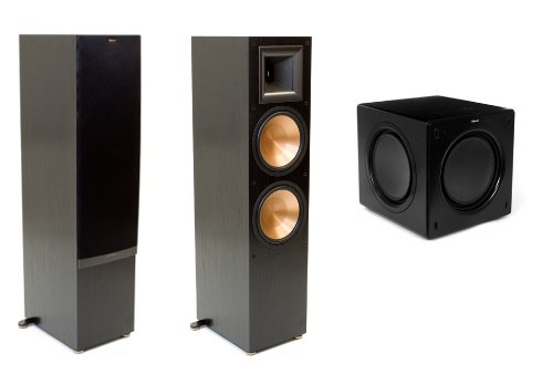 Klipsch Rf-7 Ii Speaker Package With Free Sw-311 Subwoofer (Black)