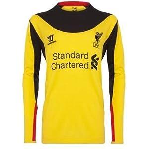 Warrior Liverpool Away Shirt 2012 2013 Goalkeeper Yellow Large