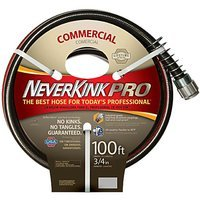 Neverkink 9844-100 Series 4000 Commercial Duty Pro Garden Hose, 3/4-Inch by 100-Feet