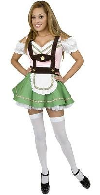 Bavarian Beer Garden Girl Sexy Costume