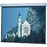 Da-Lite Model C Manual Wall plus Ceiling Projection Screen, 60