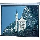 Da-Lite Model C Manual Wall plus Ceiling Projection Screen, 60