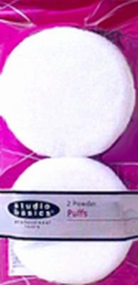 Studio Basics Cosmetic Powder Puffs, 2-Count (6-Pack)