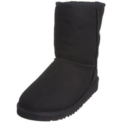 UGG Classic Short 5251, Unisex - Kinder Boots, Schwarz (BLACK), EU 30 (US 13)