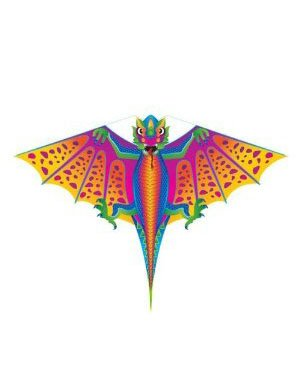 X-Kite Mini Nylon Kite w String; DRAGON: 28 Inch Wingspan