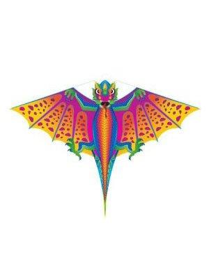 X-Kite Mini Nylon Kite w String; DRAGON: 28 Inch Wingspan