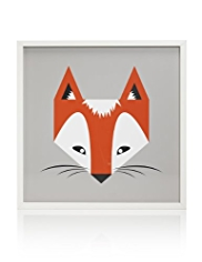 Fox Frame Wall Art