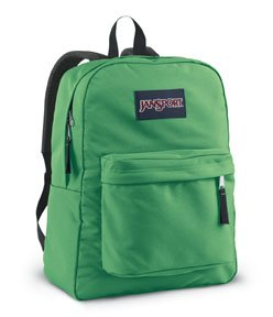 Jansport T5017UF Classic Superbreak Backpack in Verdant Green by JanSport