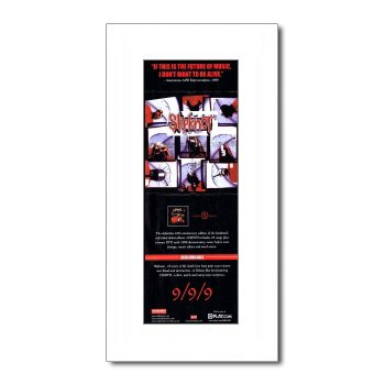 SLIPKNOT - Debut - 10th Anniversary Matted Mini Poster - 28.5x10cm Music Ad World