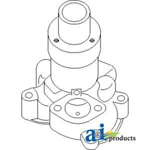 Amazon.com: 4696707 Pump Water Fits Fiat Tractors
