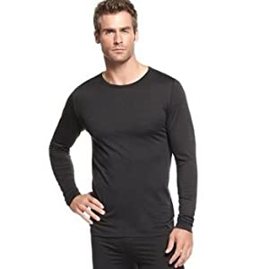 32 Degrees Heat Thermal Long Sleeve Crew Neck Shirt by Weatherproof